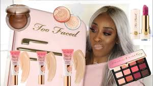 <b>Too Faced Peaches and</b> Cream WUTS GOOD?! | Jackie Aina ...