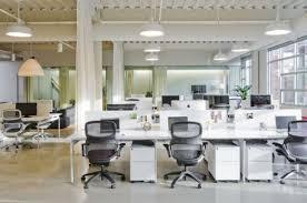 chic office design white desks ergonomic executive chair chic office design