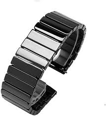Quick Release Full Ceramic <b>Smart Watch</b> Band <b>Universal Strap</b> ...