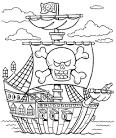 Картинки с пиратами раскраски