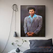 Seinfeld Kramer Art Canvas Print Painting Poster Wall Pictures For ...