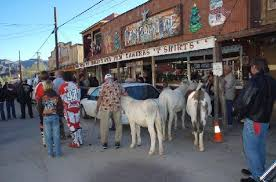 Main Street Oatman Arizona