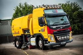 volvo super sweeper clears the way for uk road marking cge16120 085