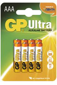 <b>Элемент питания GP</b> ААА Ultra – купить в сети магазинов Лента.