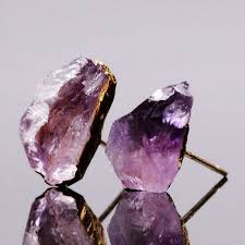 """A Touch Of Amethyst"" Stud 