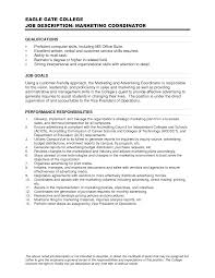 marketing resumes help for writing objective for   qisra my doctor    top resume objective statements marketing coordinator