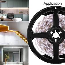<b>LED</b> Motion <b>Sensor</b> Night <b>Light</b> 5V Under Bed <b>Lighting</b> 2835 SMD ...