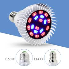<b>LED Grow Light</b> 220V <b>Full</b> Spectrum Fitolampy <b>E14</b> Indoor <b>Grow</b> ...