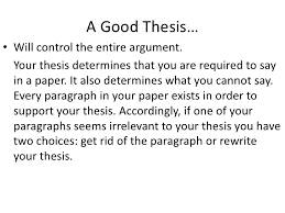examples of a good thesis statement template best template