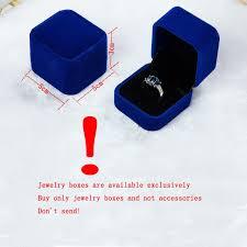 Ring box <b>5 Colors Hot Sale</b> Wholesale Velvet Engagement Wedding ...