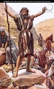 Image result for john the baptist a voice in the wilderness