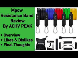 <b>Resistance Band</b> Review - Mpow <b>Resistance band</b> review
