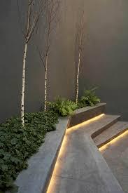 outdoor stair lighting for garden bench lighting