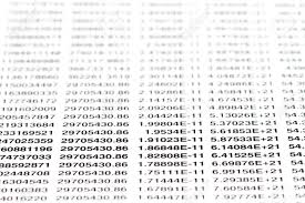 all numbers written on a sheet of paper shallow dof stock all numbers written on a sheet of paper shallow dof stock photo 6346179