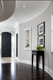 black painted doors are so styling these days blended beautifully with the light paint colour black furniture