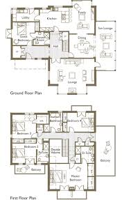 LARGE FAMILY HOME PLANS   FREE FLOOR PLANSTwo Story House Plans  Family Homes  Large Home Design Plan