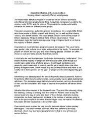 influence of mass media essay essays on mass media influence our culture   essay
