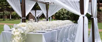 outdoor wedding ideas dining
