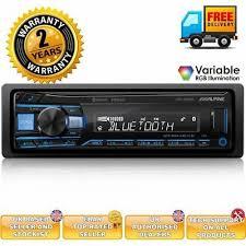 Car Stereos & Head Units <b>Alpine CDE</b>-<b>203BT</b> CD MP3 USB Car ...