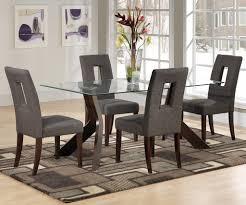 stylish brilliant dining room glass table:  incredible brilliant dining room glass dining table and chairs ebay dining also glass dining room sets stylish