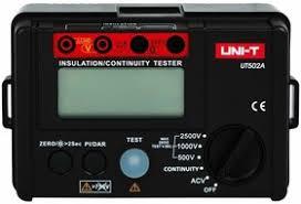 <b>UT502A</b>, Измеритель сопротивления изоляции цифровой ...