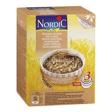 Каша <b>Nordic</b> безмолочная 600 гр <b>Ржаные хлопья</b> (с 12 мес ...