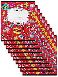 <b>Тетрадь</b> школьная ученическая <b>Sweet Love</b>, 24 листа, линейка (в ...
