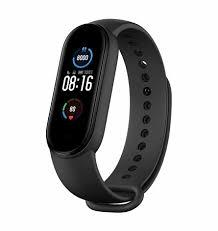 Купить фитнес-<b>браслет Xiaomi Mi</b> Smart Band 5 (черный) в ...