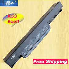 2019 <b>HSW</b> K53u <b>Laptop Battery For</b> Asus A32 K53 A42 K53 A31 ...