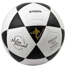 Купить <b>мяч</b> ф/б <b>atemi goal pvc</b> бел/чёрн., р.5, ламинированный в ...