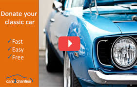 Donate a Classic Car to Charity | Cars2Charities.org