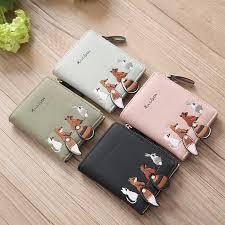 <b>Short Student Wallet Korean</b> Cute Small Fresh Fold Mini Tide ...