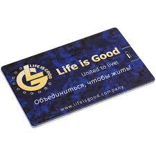 <b>Флешка Platinum Card</b>, 8 Гб, серебристая (артикул 3422.08 ...