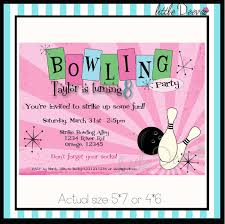 bowling birthday party invitations com bowling birthday party invitations by giving art of painting on your birthday to have elegant invitation templates printable 8