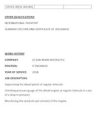 marine engineer resume doc   mainstreamresumepro com tag