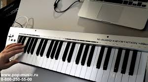 Доступная миди клавиатура M-Audio Keystation 49es Mk II ...