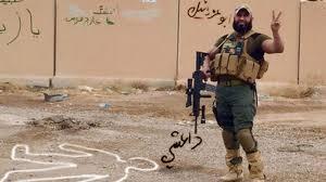 'The Archangel of <b>Death</b>' fighting Islamic State - BBC News