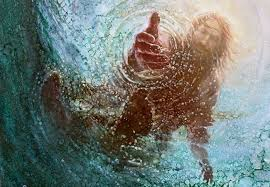 Image result for jesus walking on water