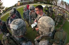 u s department of defense photo essay u s army staff sgt george a turner briefs his team over the night s objectives