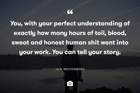 stop being humbled be proud blog jon quote