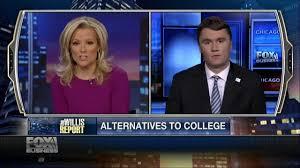 charlie kirk on the willis report alternatives to costly college charlie kirk on the willis report alternatives to costly college