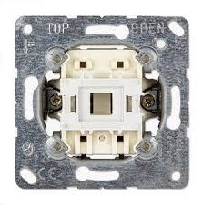 <b>Выключатель</b> Eco profi <b>одноклавишный кнопочный</b> 10 А, с возм ...