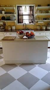 Painting Linoleum Kitchen Floor 1000 Ideas About Painting Linoleum Floors On Pinterest Paint