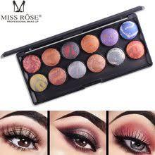 <b>MISS</b> ROSE Matte Eyeshadow Pallete Long-lasting <b>Eye</b> Shadow ...