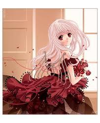 tsukimura en robe de bal