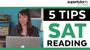 tips to improve your sat essay score supertutor tv 5 tips for the new sat reading section