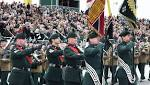 Thousands flock to Titanic Slipway as Royal Irish Regiment receives new Colours
