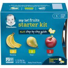 <b>Baby Food Stage</b> 1 : Target