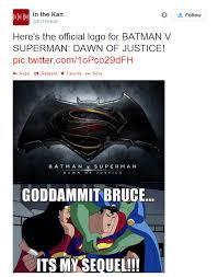 Twitter Clowns Batman V Superman Movie With Memes | Page 5 | Hip ... via Relatably.com