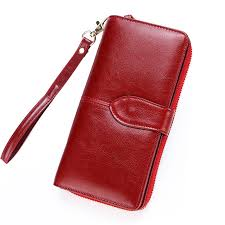 <b>Dreamlizer</b> Women <b>Real Leather</b> Wallet Female Long Genuine ...